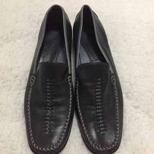 Cole Haan Tacon Bajo Navy w/gray loafers 10.5